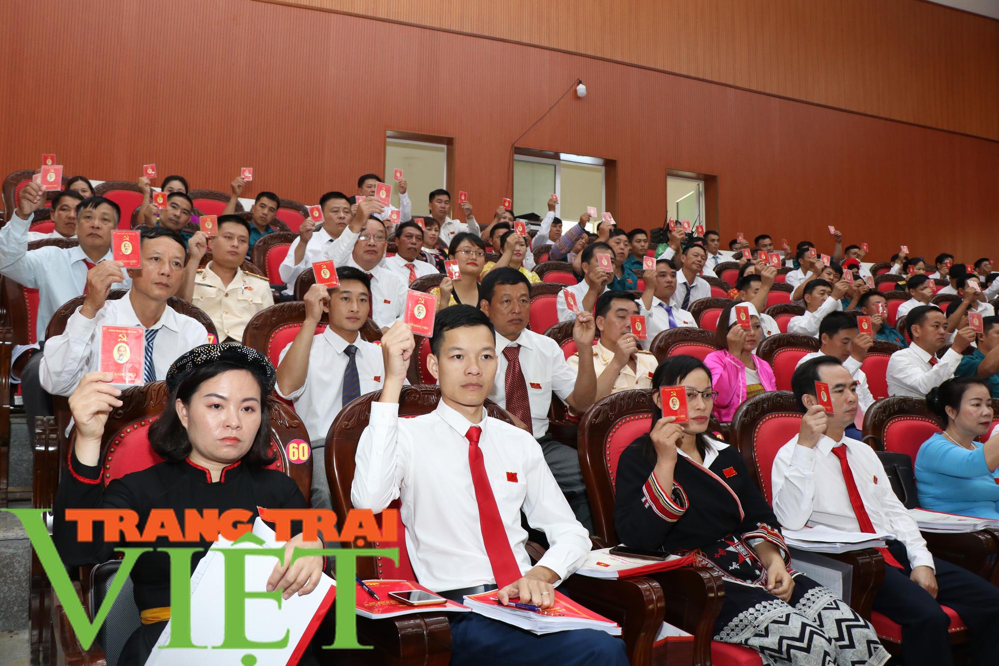 Đại hội đại biểu Đảng bộ huyện Vân Hồ phấn đấu đến 2025 đưa huyện thoát nghèo   - Ảnh 2.