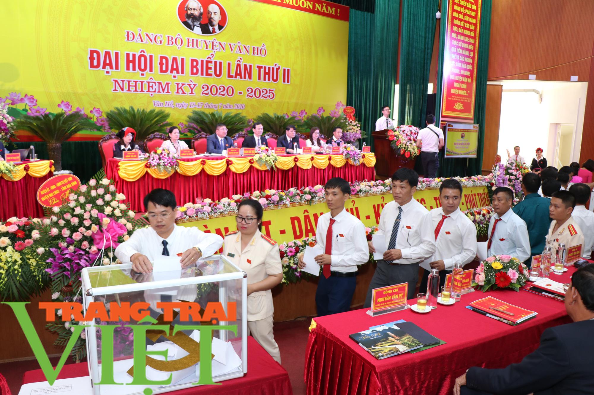 Đại hội đại biểu Đảng bộ huyện Vân Hồ phấn đấu đến 2025 đưa huyện thoát nghèo   - Ảnh 3.
