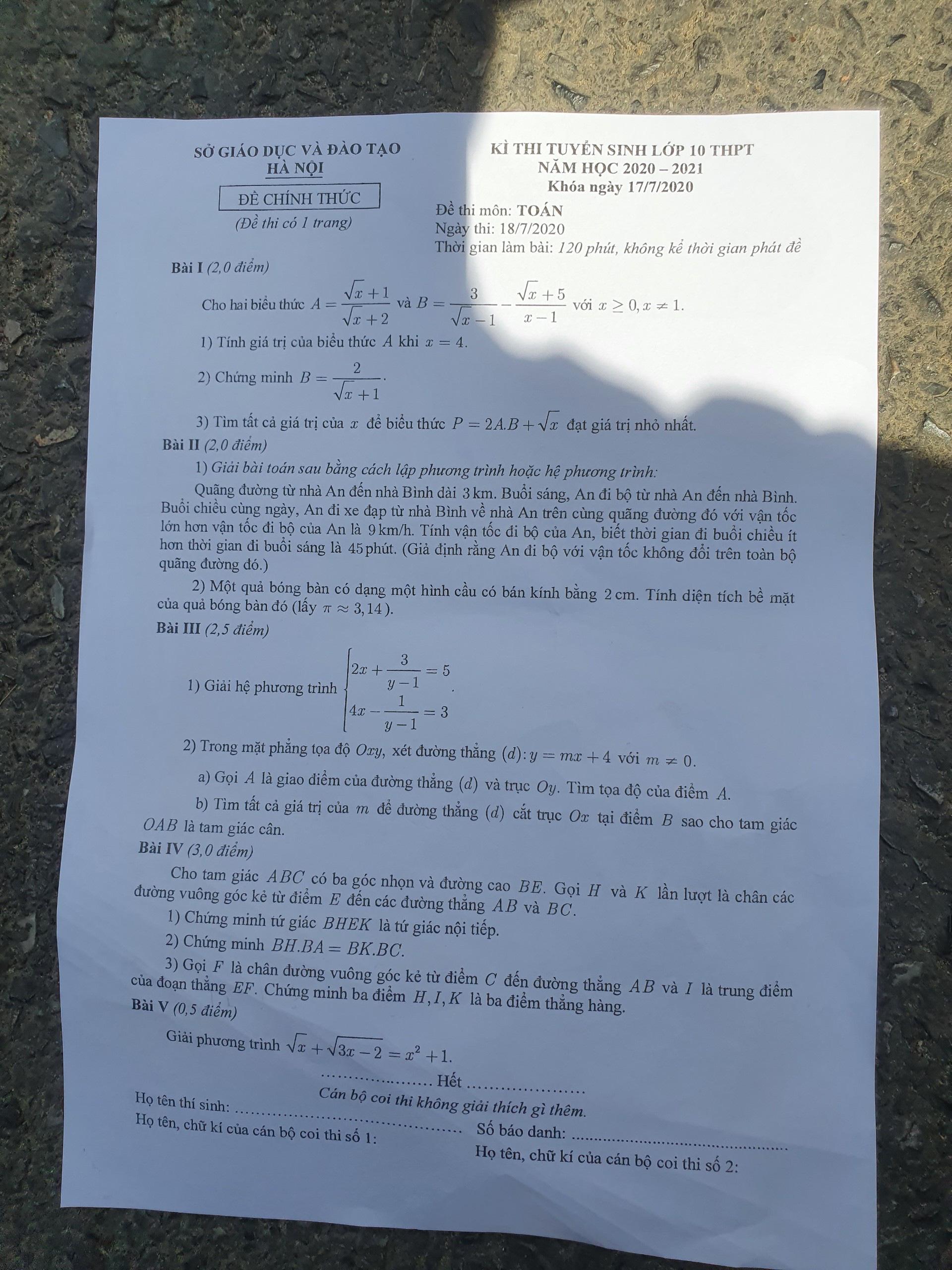 """Thi vào lớp 10 tại Hà Nội: Dự đoán điểm chuẩn sẽ tăng vì đề thi """"dễ thở"""" - Ảnh 2."""
