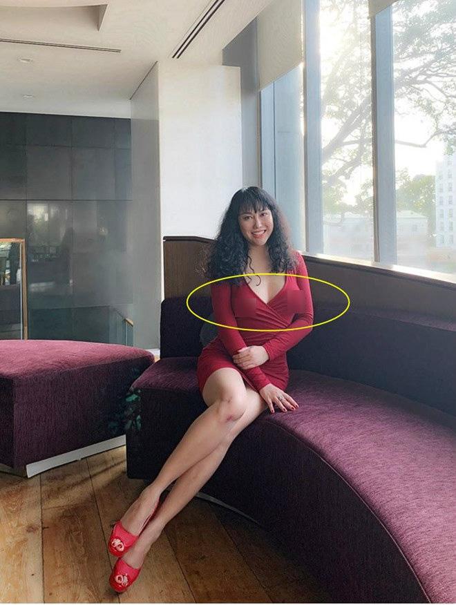 Phi Thanh Vân mặc xẻ sâu hút mắt bị soi điểm nhạy cảm kém duyên - Ảnh 3.