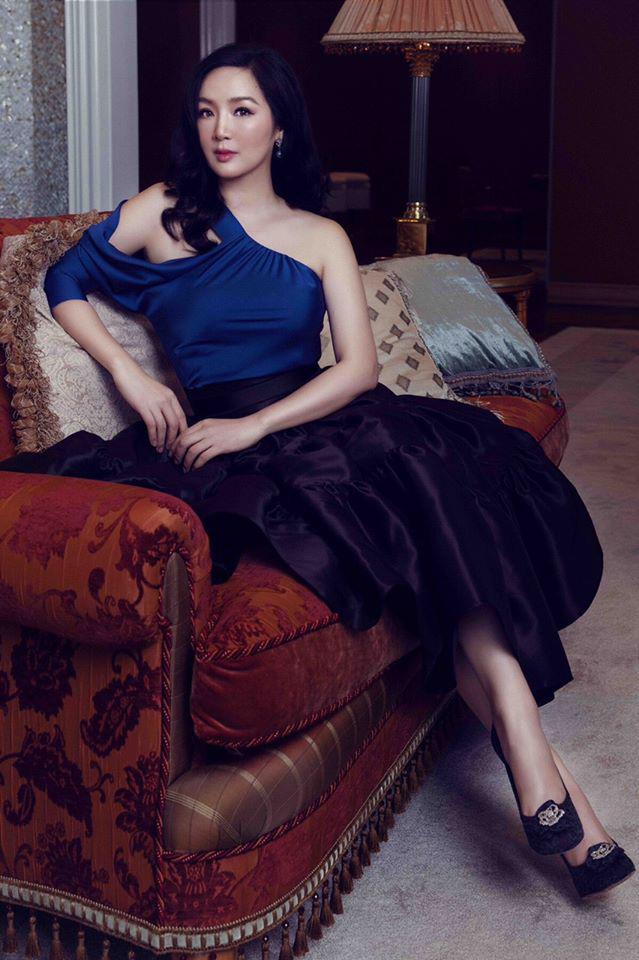 """Tuổi 49, Hoa hậu Giáng My """"gây mê"""" người nhìn nhờ vẻ đẹp tựa nữ thần - Ảnh 2."""