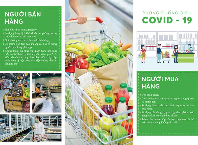 Bảo đảm an toàn thực phẩm bếp ăn tập thể nhà hàng, gia đình, siêu thị phòng chống dịch Covid-19 - Ảnh 2.