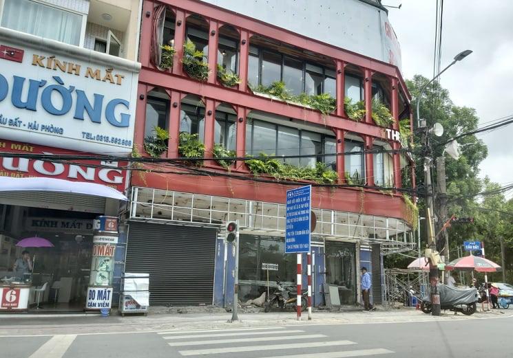 Một cửa hàng của Cty CNP HP bị bà Đặng Thị Hồng Hải đẩy lao động ra đường