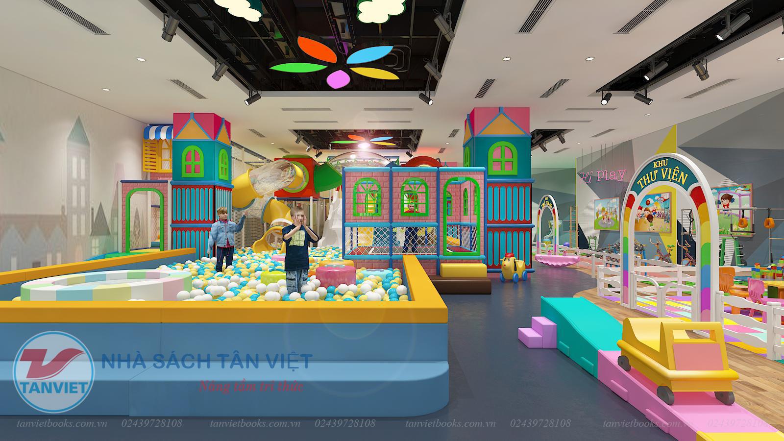 Khai trương Khu vui chơi trẻ em Tân Việt Wonderland tại Vincom Hà Nam - Ảnh 2.