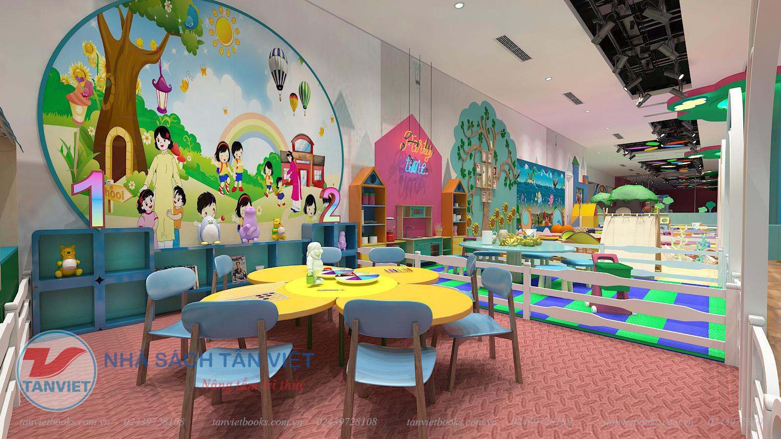 Khai trương Khu vui chơi trẻ em Tân Việt Wonderland tại Vincom Hà Nam - Ảnh 4.