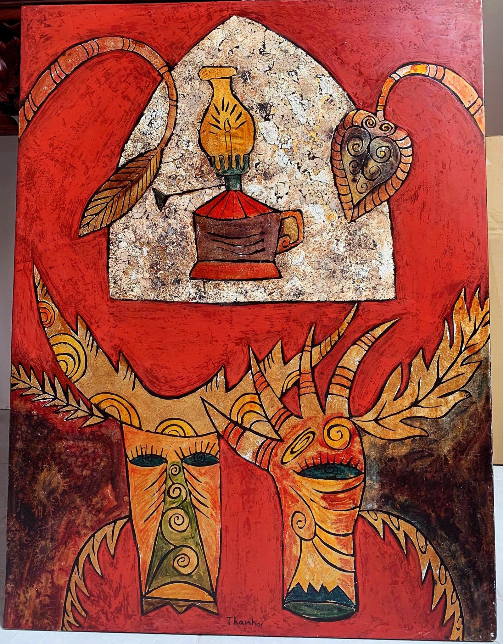 """""""République D'Art"""" - triển lãm tranh của các danh họa và họa sĩ đương đại  - Ảnh 1."""