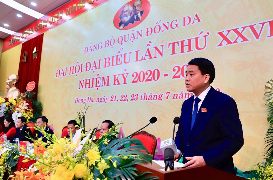 Chủ tịch Hà Nội Nguyễn Đức Chung: Cần đề cao trách nhiệm nêu gương của cán bộ - Ảnh 1.