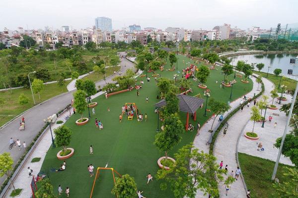 Lộ 'ưu ái' cho doanh nghiệp làm sân tập golf trong công viên  - Ảnh 1.