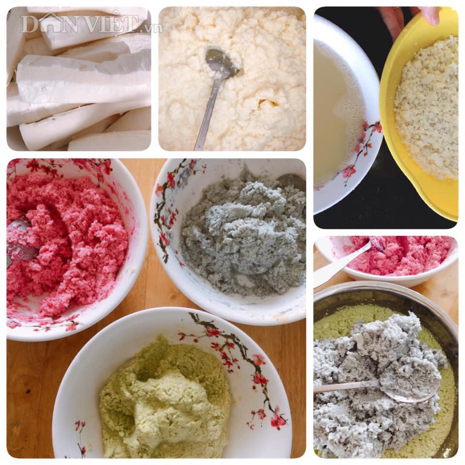 Bánh sinh nhật làm từ khoai mì hấp cốt dừa - Ảnh 1.