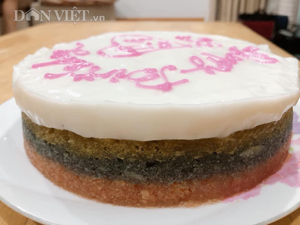Bánh sinh nhật làm từ khoai mì hấp cốt dừa - Ảnh 3.