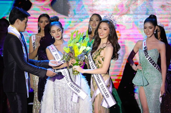 Vẻ nóng bỏng không kém Hương Giang của tân Hoa hậu chuyển giới Thái Lan 2020 - Ảnh 3.