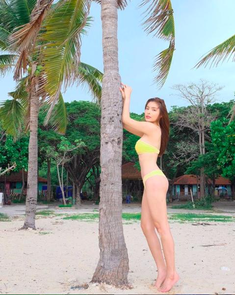 Vẻ đẹp tân Hoa hậu chuyển giới Thái Lan 2020 mặc bikini quyến rũ không kém Hương Giang - Ảnh 6.