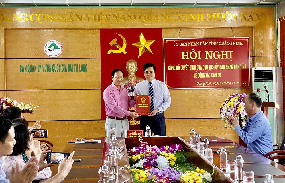 Quảng Ninh: Phó chủ tịch TP.Cẩm Phả bị kỷ luật được điều về làm phó giám đốc VQG Bái Tử Long - Ảnh 1.