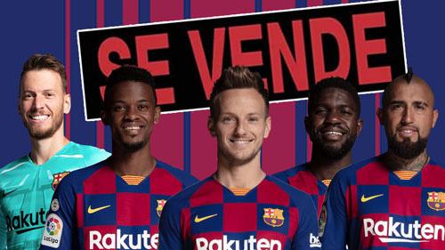 Barcelona bán hàng loạt vào hè này.