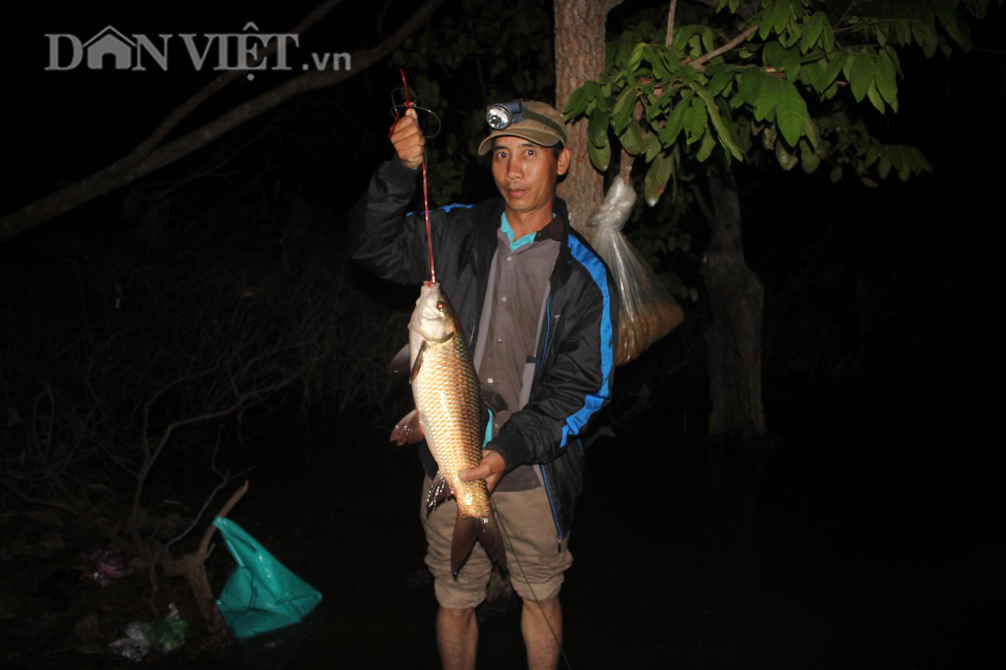 Trắng đêm cùng thợ câu săn cá khủng giữa rừng - Ảnh 4.