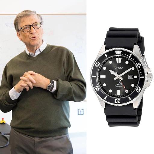 Loạt đồng hồ bình dân của các tỷ phú giàu nhất thế giới - Ảnh 2.