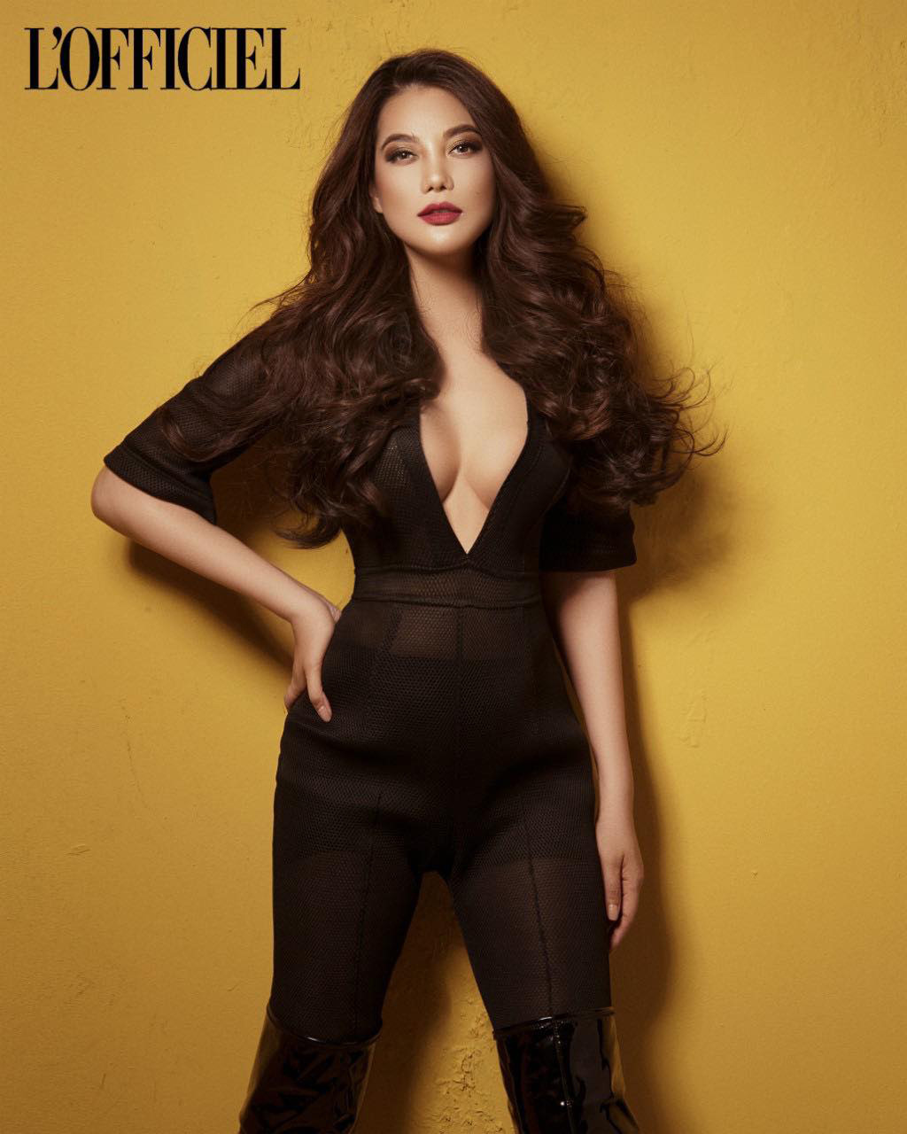 Trương Ngọc Ánh xuất hiện cá tính, quyến rũ trên trang bìa tạp chí của Nga   - Ảnh 6.