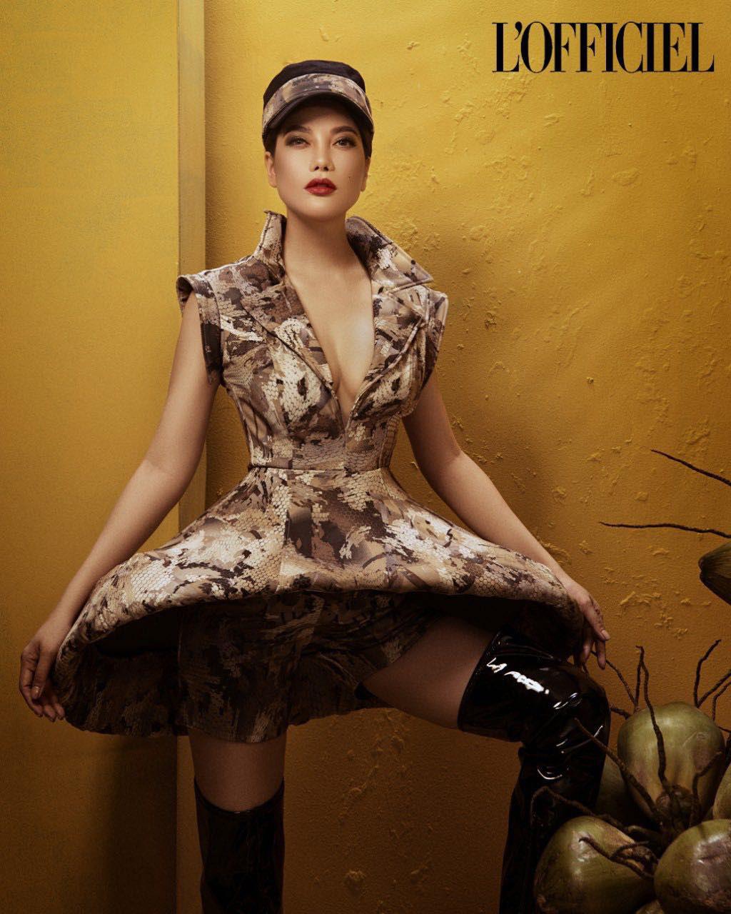 Trương Ngọc Ánh xuất hiện cá tính, quyến rũ trên trang bìa tạp chí của Nga   - Ảnh 7.