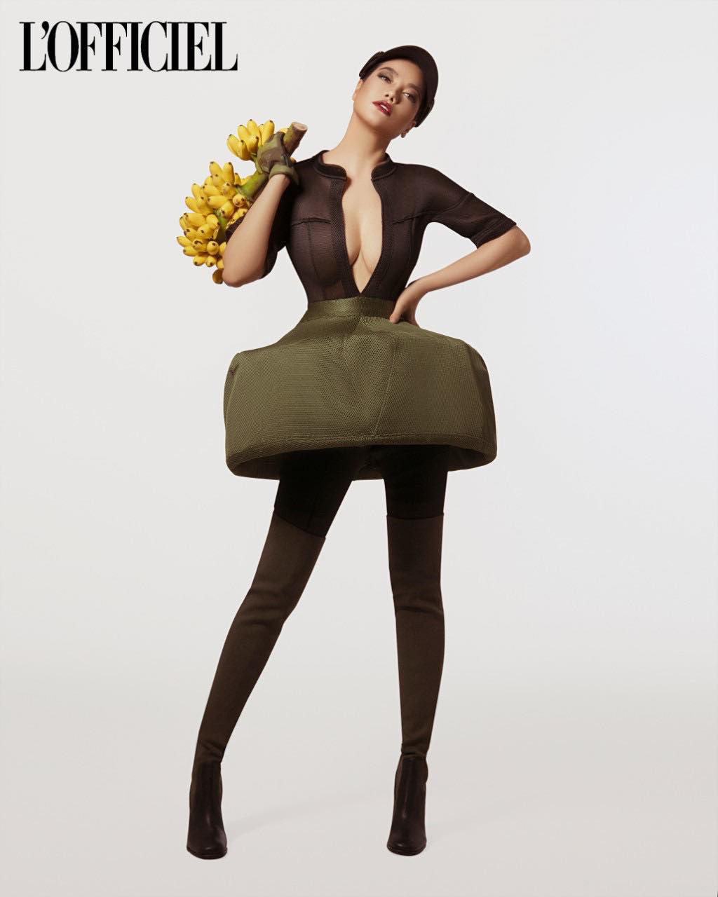 Trương Ngọc Ánh xuất hiện cá tính, quyến rũ trên trang bìa tạp chí của Nga   - Ảnh 2.