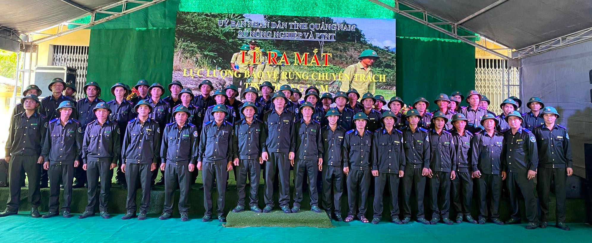 """Quảng Nam: Những """"chiến sĩ"""" ngày đêm canh giữ lá phổi xanh - Ảnh 2."""