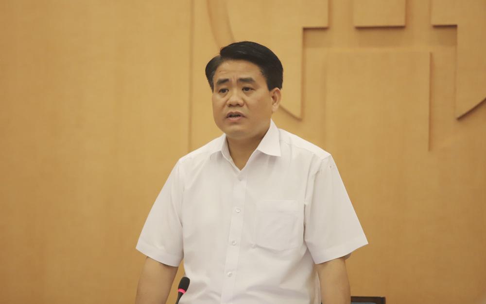 Covid-19: Chủ tịch Hà Nội Nguyễn Đức Chung yêu cầu dừng hoạt động karaoke, quán bar, trà đá vỉa hè - Ảnh 1.