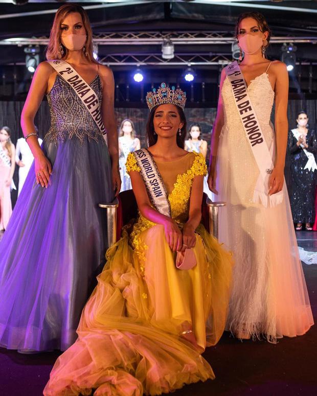Tình huống chưa từng xảy ra trong đêm chung kết Hoa hậu Tây Ban Nha được tổ chức giữa mùa dịch Covid-19 - Ảnh 2.