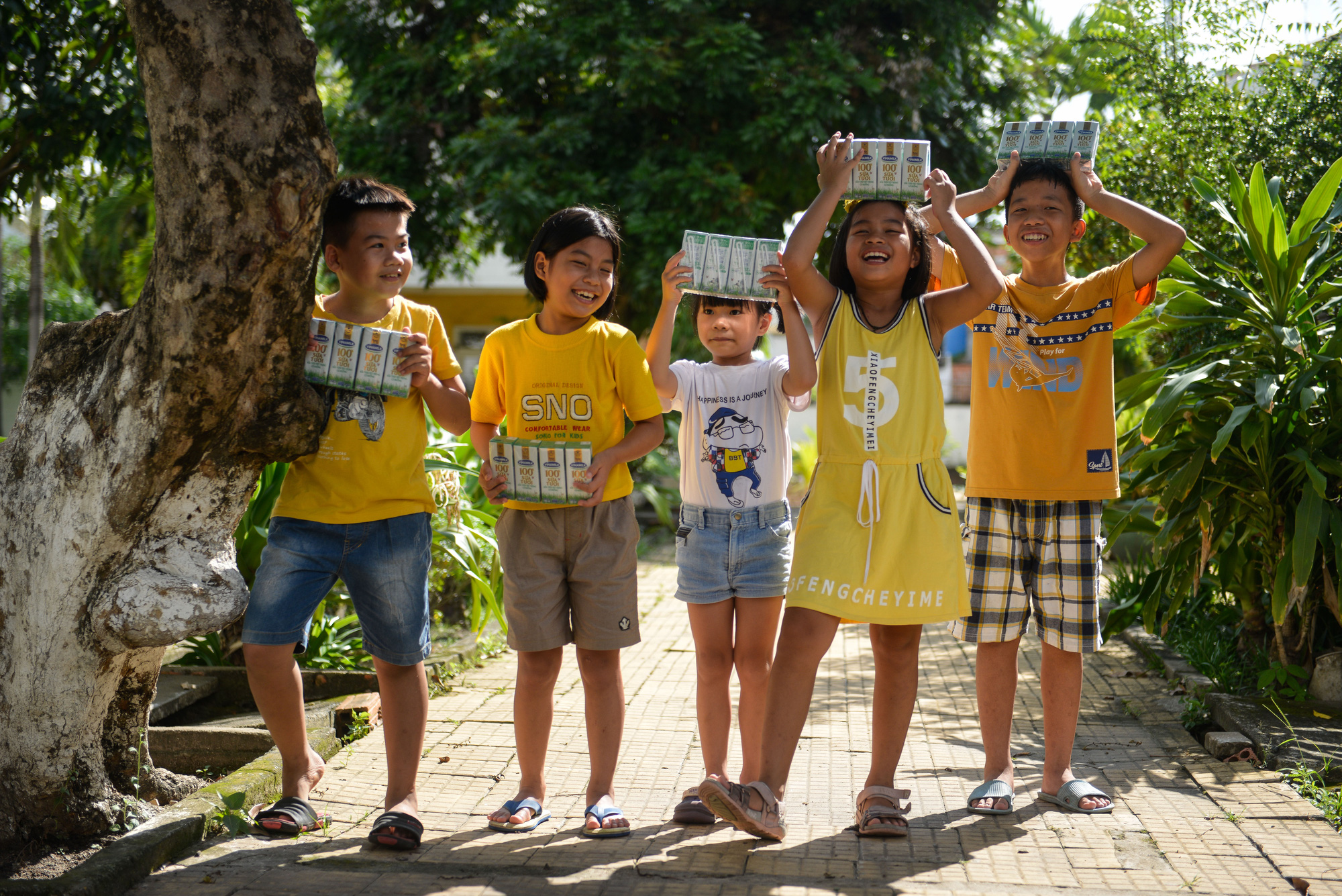 Quỹ sữa Vươn cao Việt Nam đến với trẻ khó khăn TP.HCM - Ảnh 11.