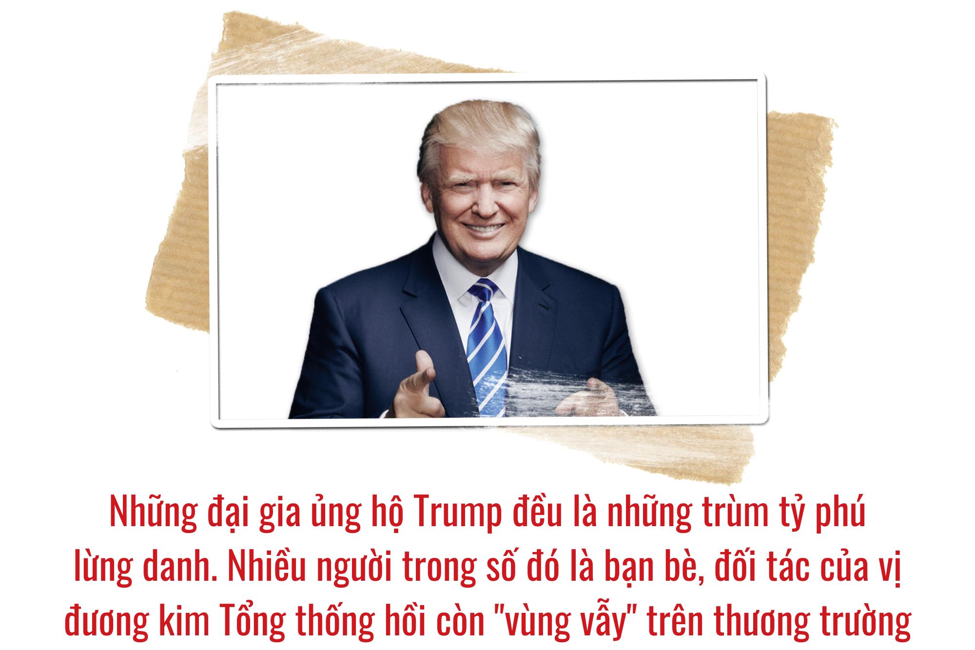 """Loạt tỷ phú """"chống lưng"""" cho chiến dịch tái tranh cử Tổng thống Mỹ của ông Trump - Ảnh 2."""