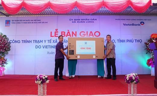 Góp phần chống dịch Covid-19, PVFCCo xây dựngTrạm y tế ở Phú Thọ - Ảnh 1.