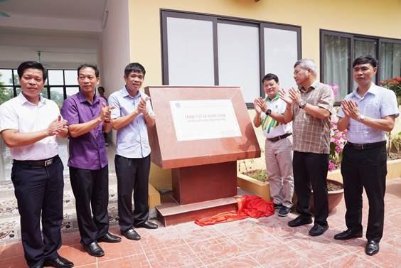 Góp phần chống dịch Covid-19, PVFCCo xây dựngTrạm y tế ở Phú Thọ - Ảnh 2.