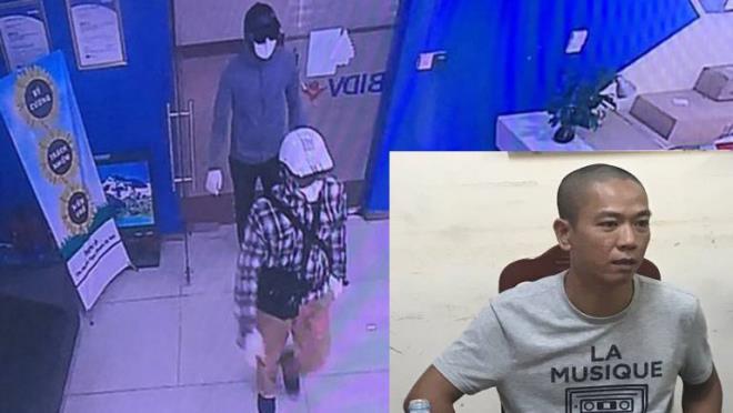 36 giờ truy bắt 2 tên cướp ngân hàng tại Hà Nội - Ảnh 2.