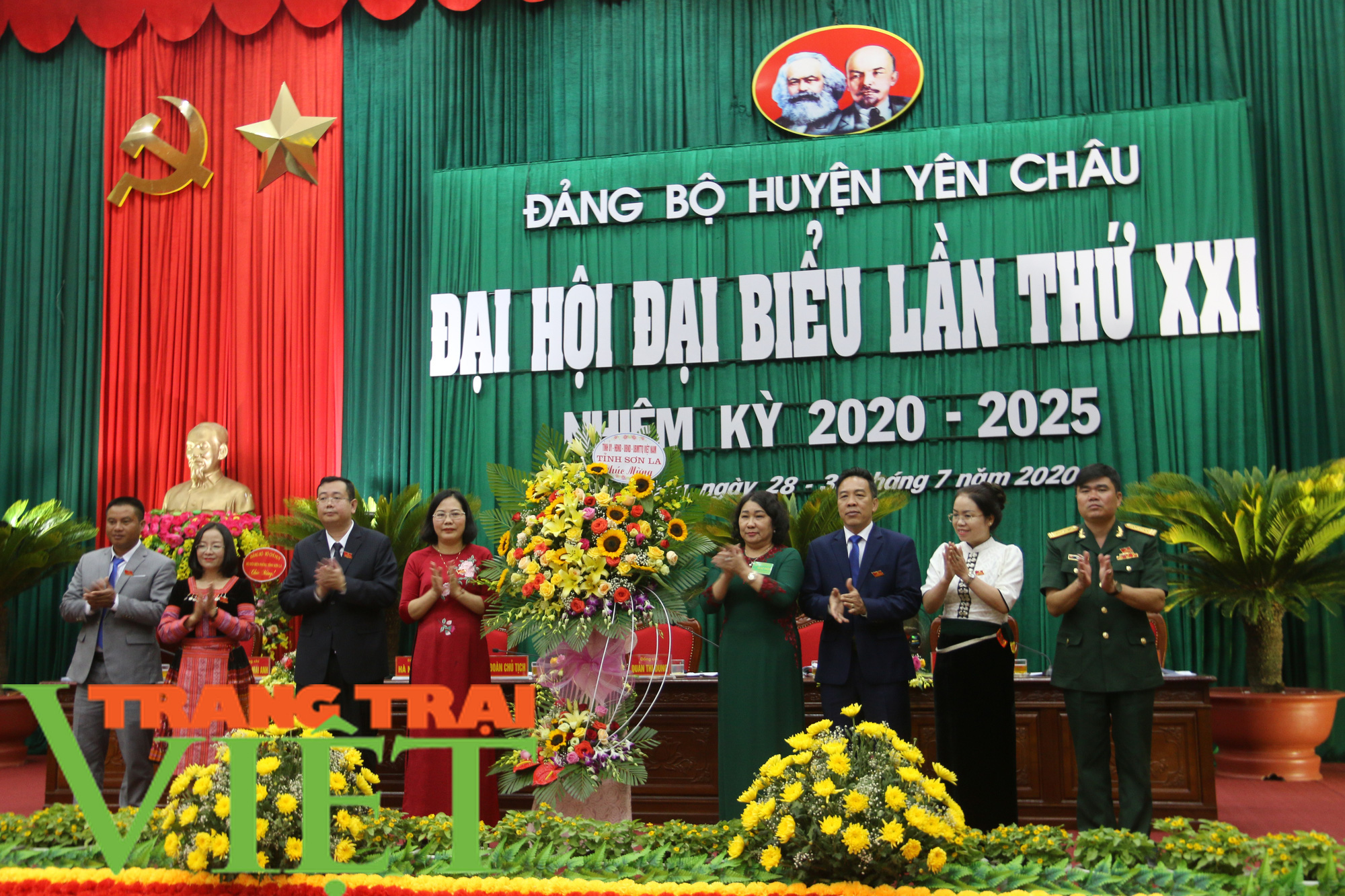 Đảng bộ huyện Yên Châu: Nhiều chỉ tiêu đạt và vượt kế hoạch - Ảnh 1.