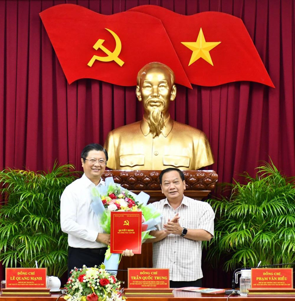Ban Bí thư điều động Phó Chủ tịch UBND TP.Cần Thơ Trương Quang Hoài Nam về Trung ương - Ảnh 1.
