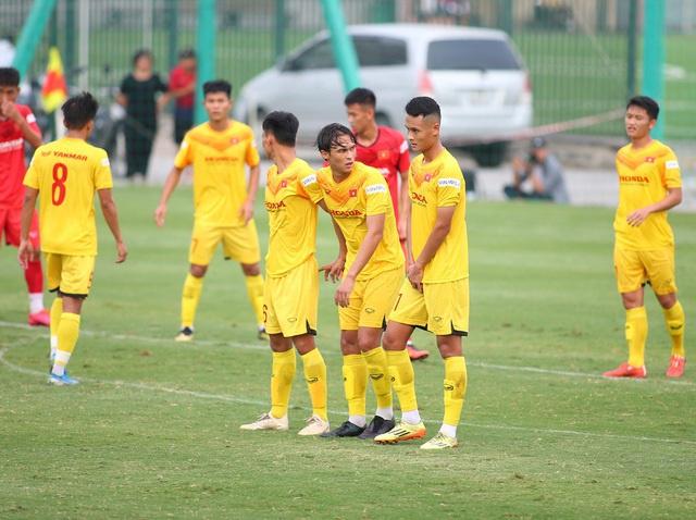 Các cầu thủ U22 Việt Nam có chiều cao ấn tượng