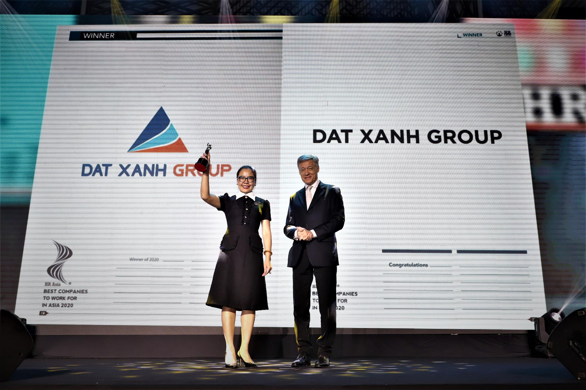 """Tập đoàn Đất Xanh được vinh danh """"Doanh nghiệp có môi trường làm việc tốt nhất châu Á năm 2020 tại Việt Nam"""" - Ảnh 2."""