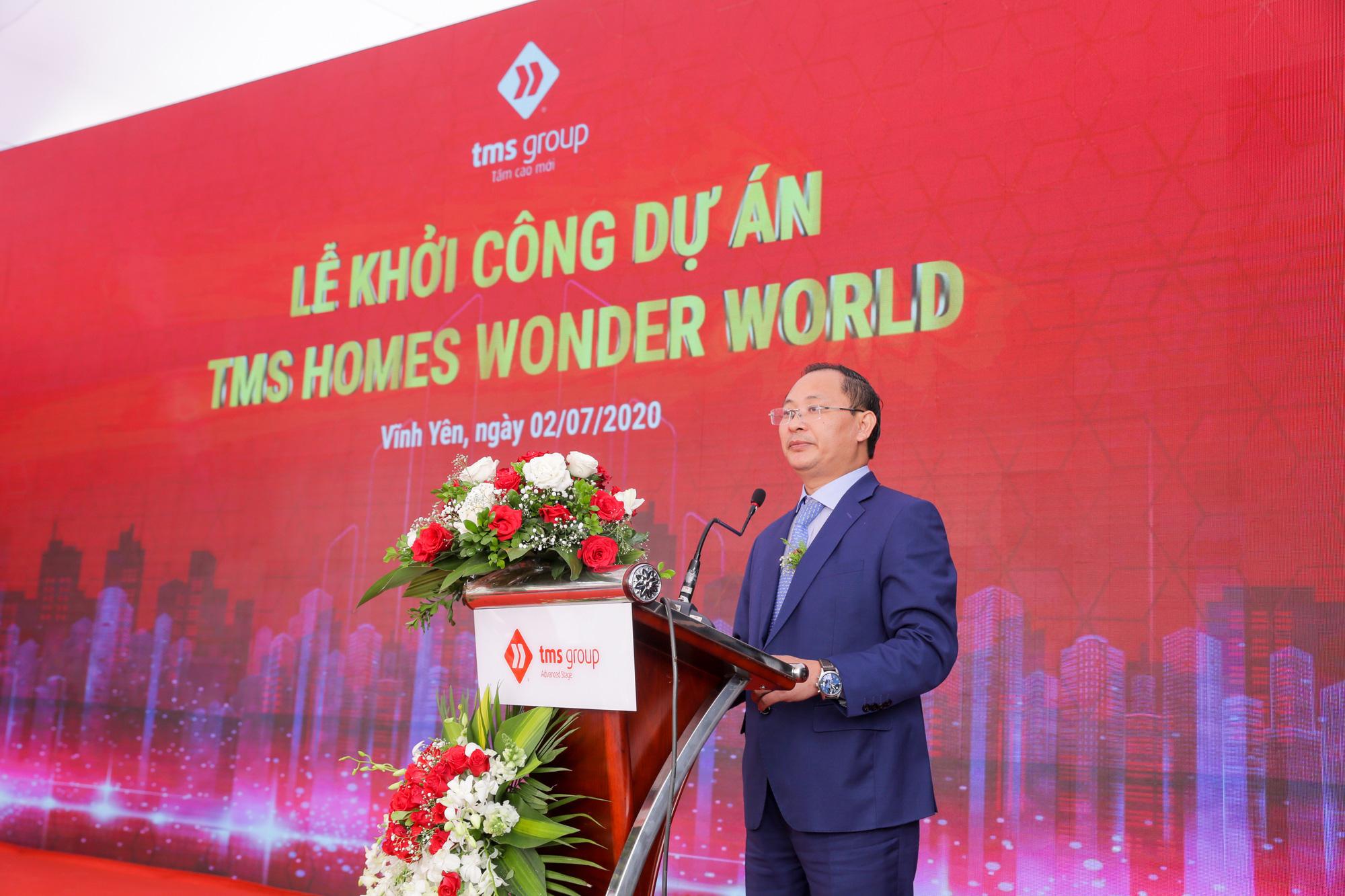 Khởi công TMS Homes Wonder World - từ điểm sáng đầu tư đến sức hút thương hiệu - Ảnh 1.
