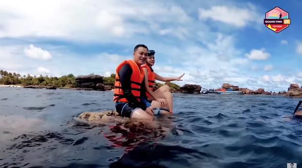 Bị chỉ trích phá hoại rạn san hô ở Phú Quốc, Quang Vinh chính thức có động thái mới - Ảnh 1.