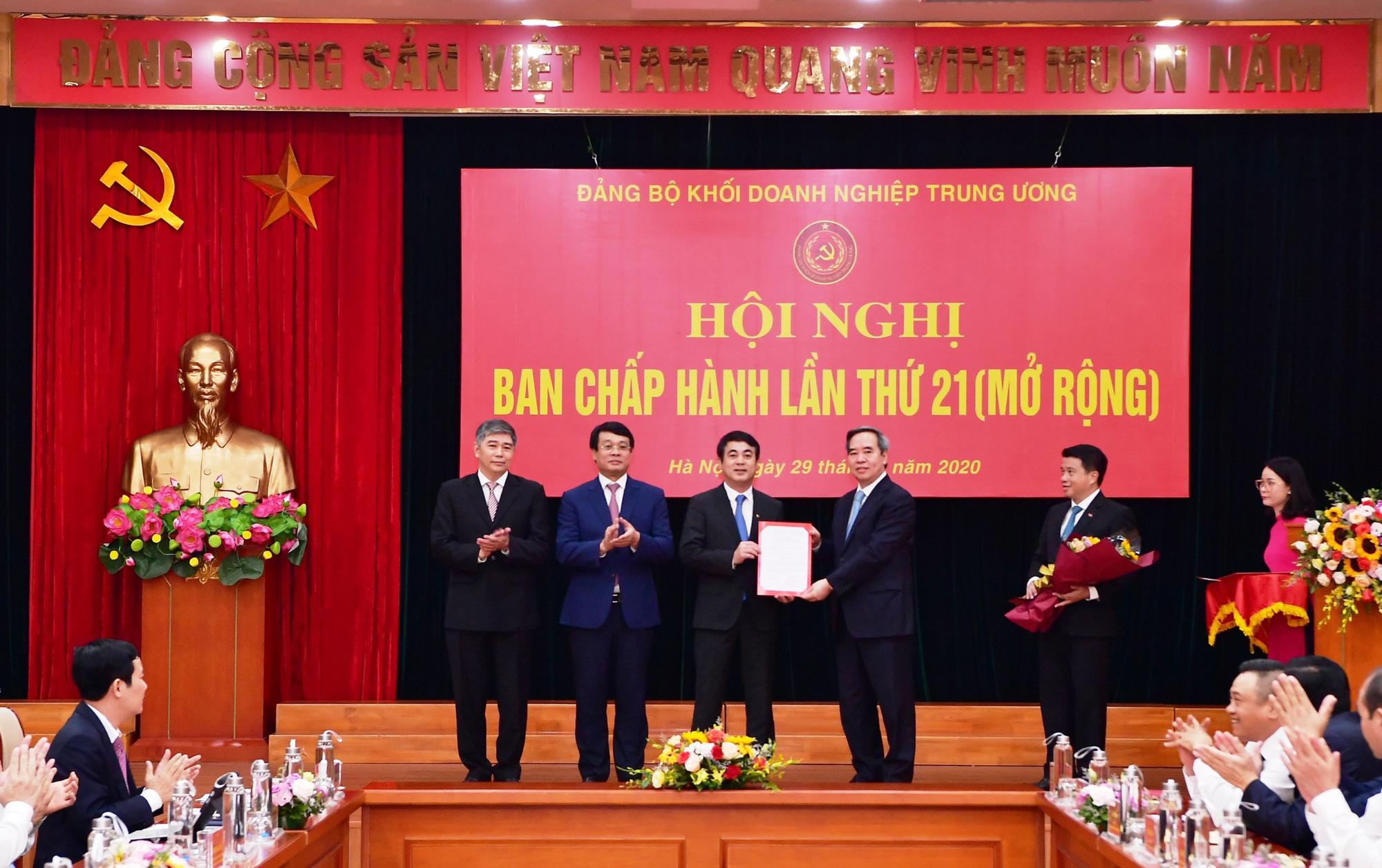 Chủ tịch HĐQT Vietcombank giữ chức Ủy viên Ban Thường vụ Đảng ủy Khối Doanh nghiệp Trung ương - Ảnh 1.