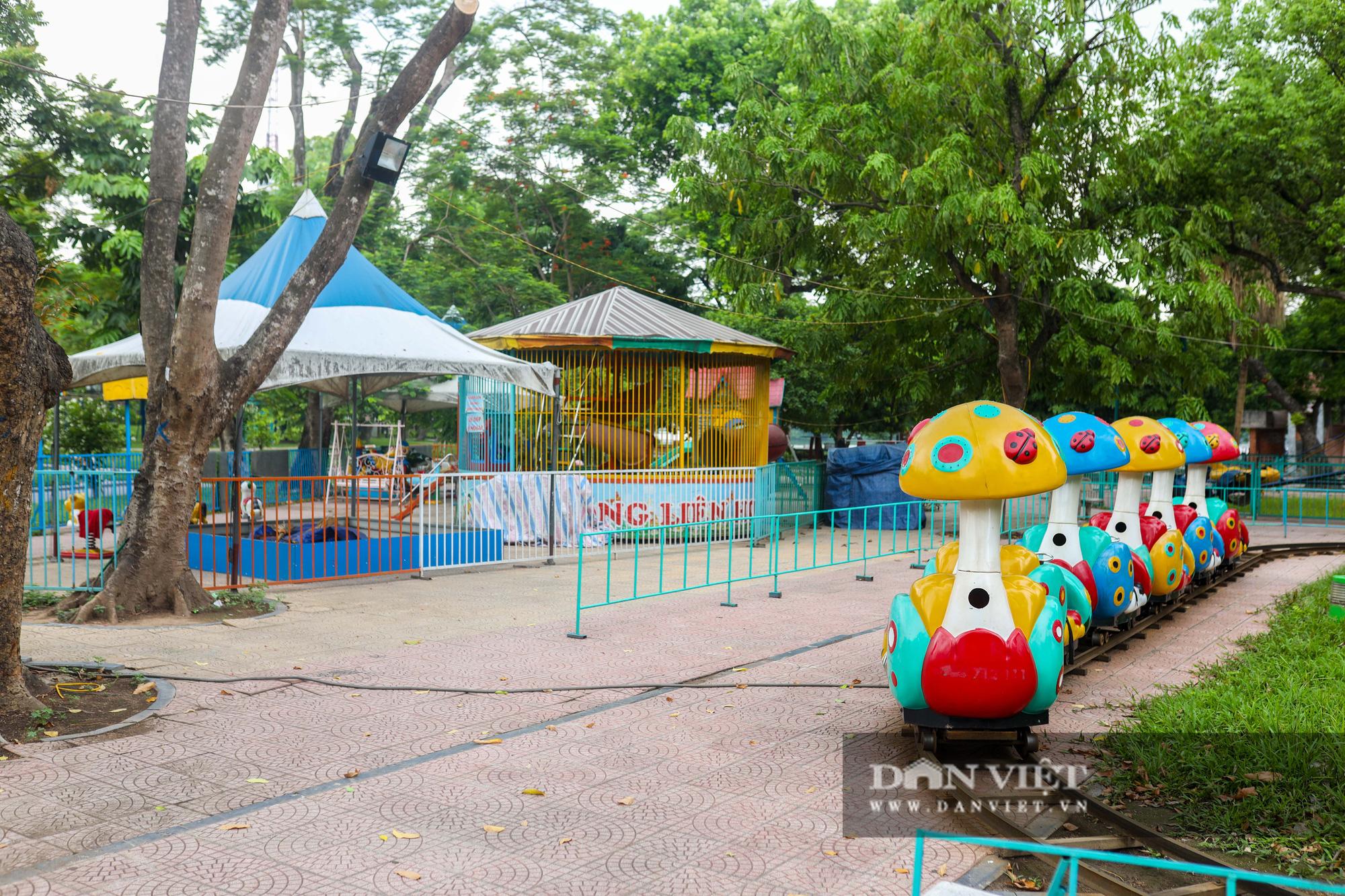 Hà Nội: Nhiều trò chơi trong công viên Thống Nhất ế ẩm, xuống cấp - Ảnh 1.