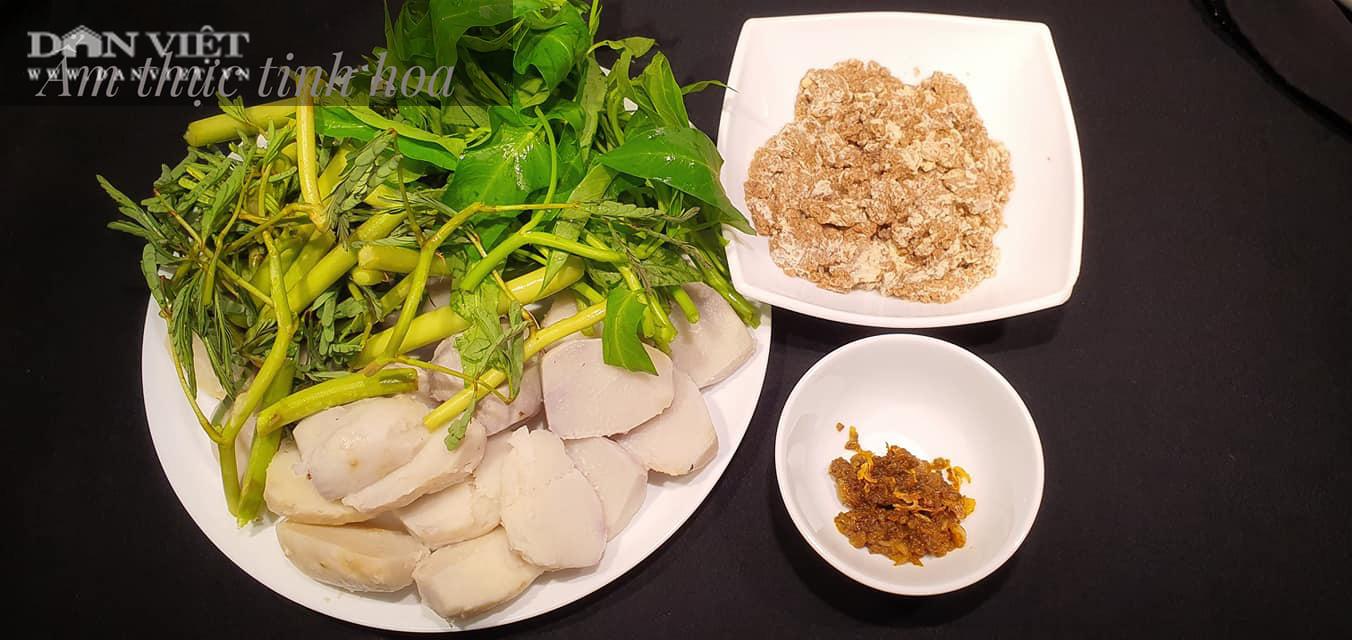 Món canh cua khoai sọ cho bữa cơm ngày hè - Ảnh 2.