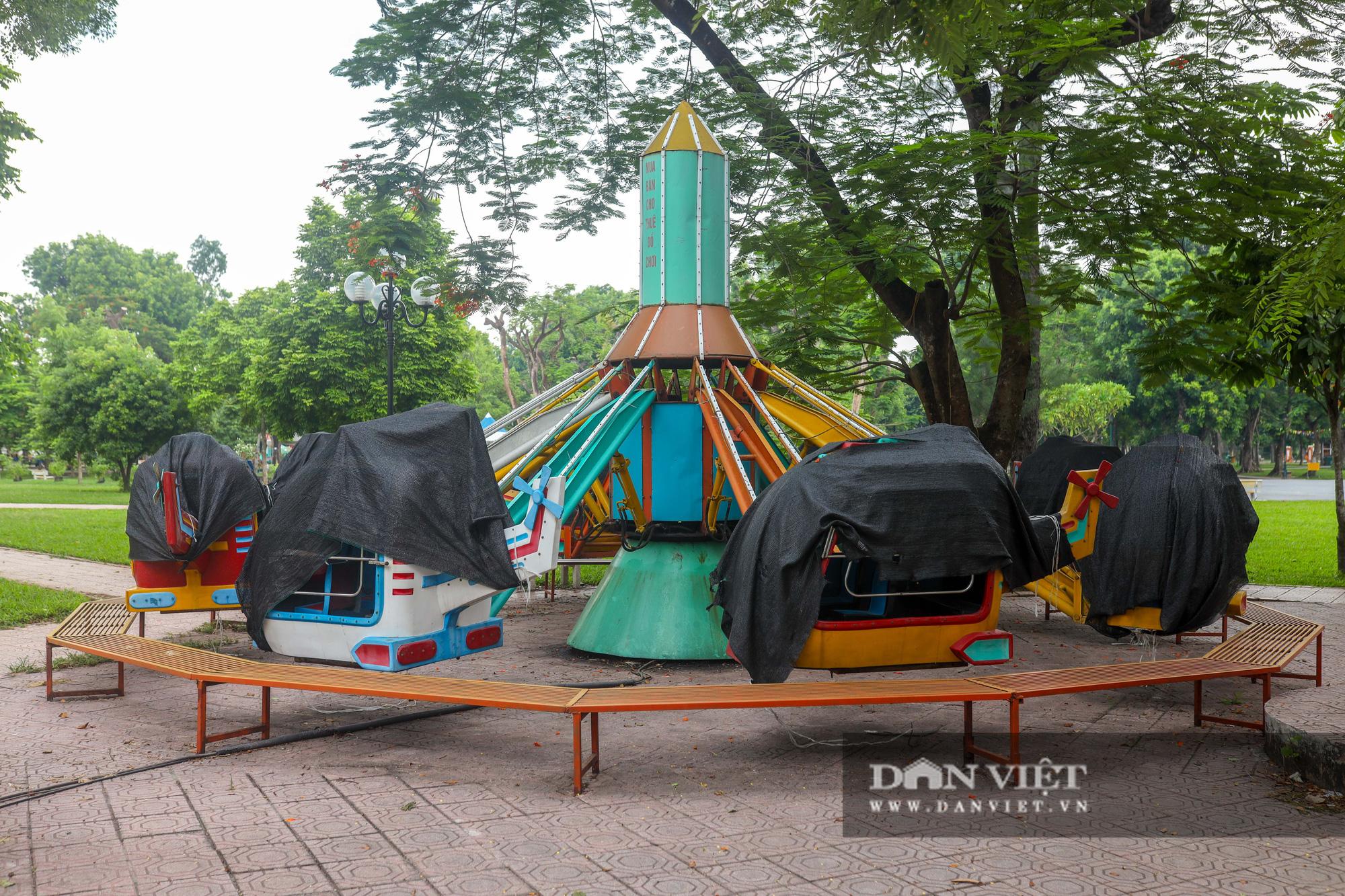 Hà Nội: Nhiều trò chơi trong công viên Thống Nhất ế ẩm, xuống cấp - Ảnh 3.
