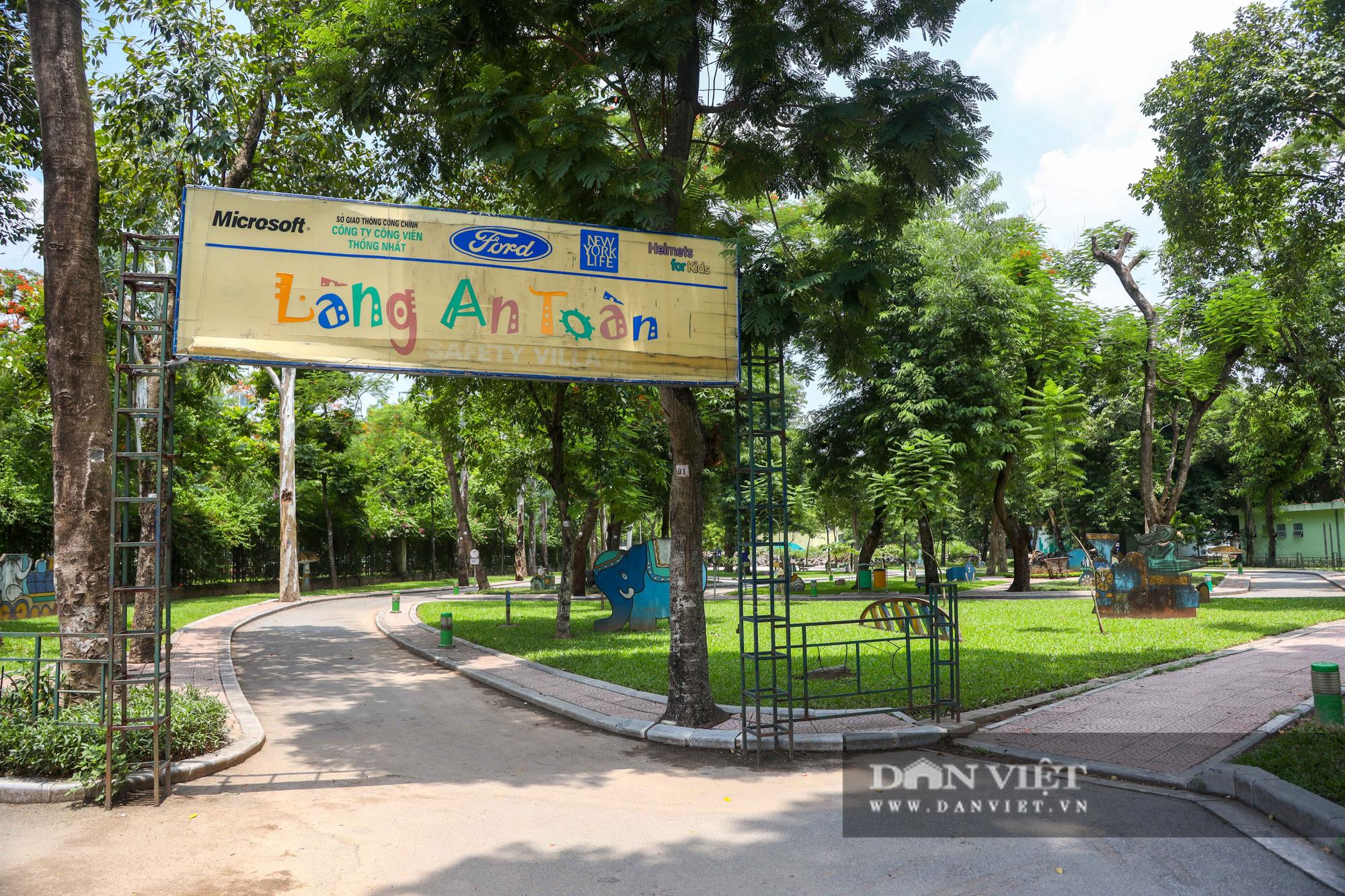 Hà Nội: Nhiều trò chơi trong công viên Thống Nhất ế ẩm, xuống cấp - Ảnh 9.