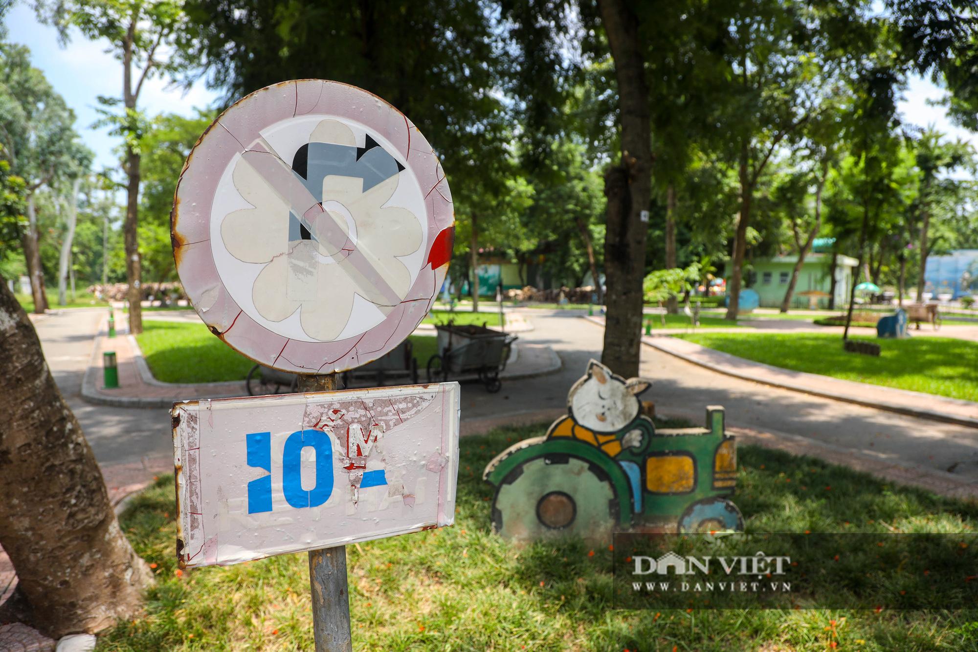 Hà Nội: Nhiều trò chơi trong công viên Thống Nhất ế ẩm, xuống cấp - Ảnh 11.