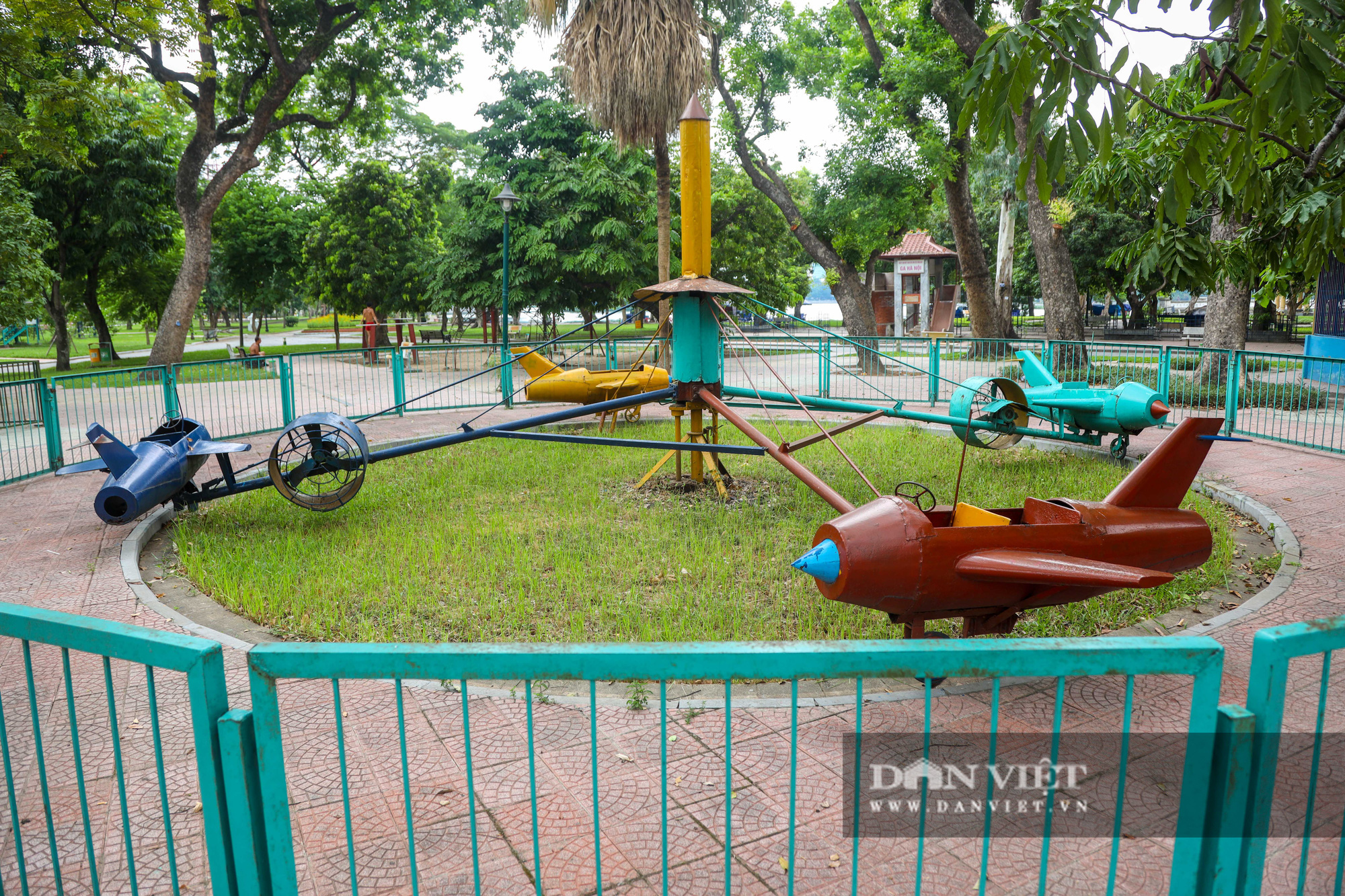Hà Nội: Nhiều trò chơi trong công viên Thống Nhất ế ẩm, xuống cấp - Ảnh 14.