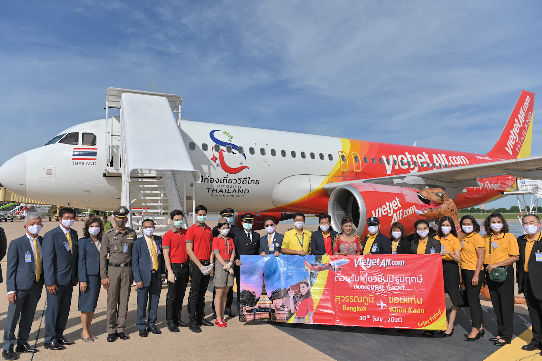 Vietjet Thái Lan khai trương đường bay Bangkok – Khon Kaen - Ảnh 4.
