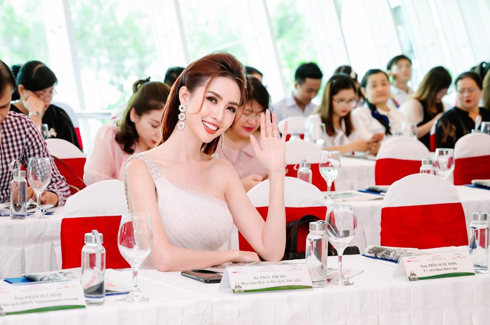 Hoa hậu Phan Thị Mơ dành tâm huyết cho du lịch Đồng bằng sông Cửu Long - Ảnh 3.