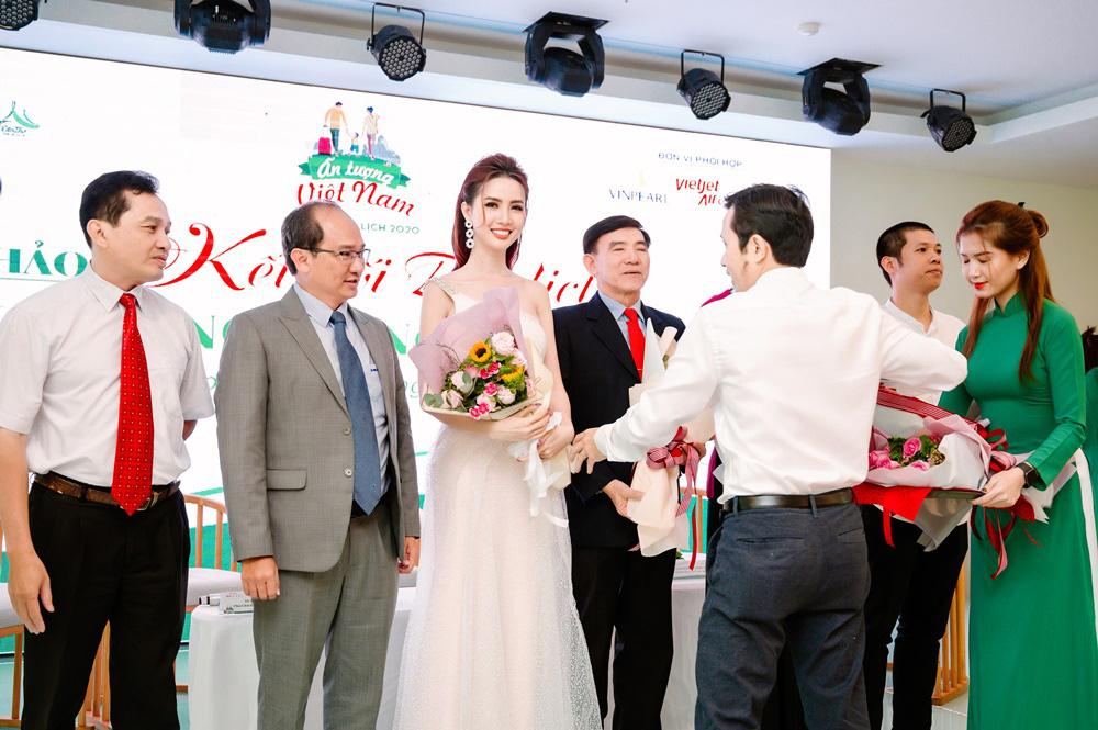 Hoa hậu Phan Thị Mơ dành tâm huyết cho du lịch Đồng bằng sông Cửu Long - Ảnh 4.