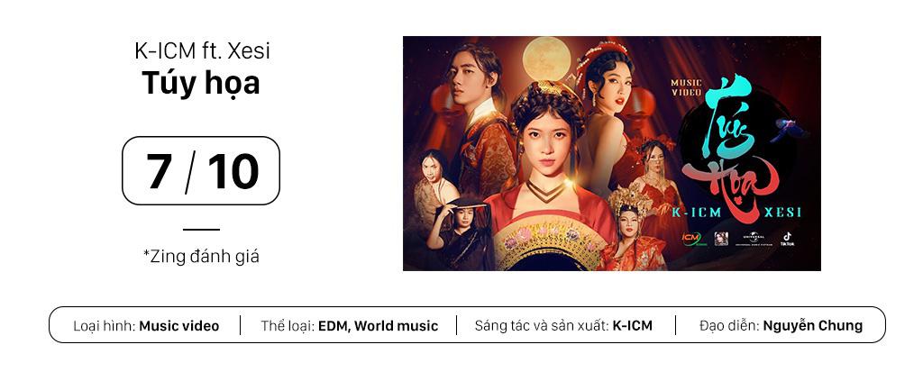"""MV """"Tuý họa"""" của K-ICM và 10X Xesi: Nhạc ấn tượng, hình ảnh """"lẩu thập cẩm"""" - Ảnh 1."""