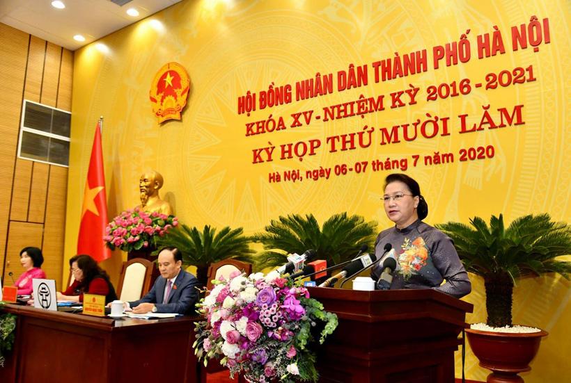 Chủ tịch Quốc hội: Hà Nội cần chú ý vấn đề lựa chọn nhân sự phù hợp với mô hình chính quyền đô thị - Ảnh 1.