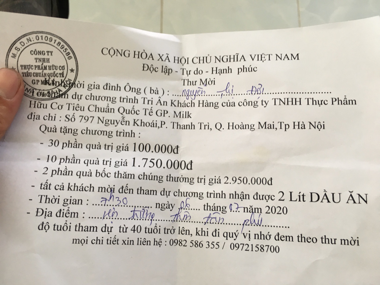 Khánh Hòa: Một doanh nghiệp bị tạm dừng phát quà tri ân cho người dân  - Ảnh 2.